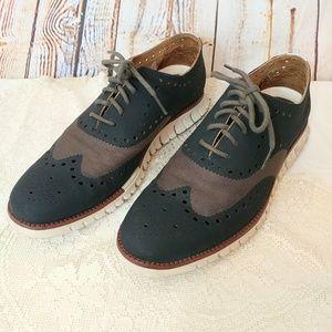 Cole Haan Zerogrand Wingtip Driver Shoes 9M